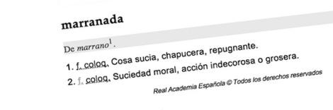 marranada